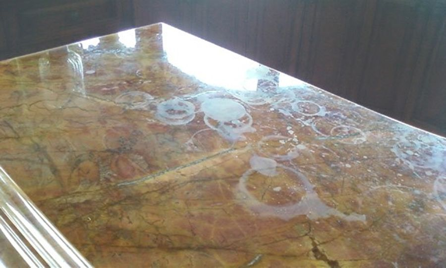 Stains On Your Granite Countertops or Natural Stone Surfaces?