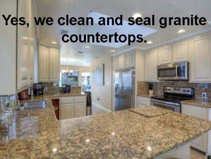 We Make Granite Countertops Look New Again!