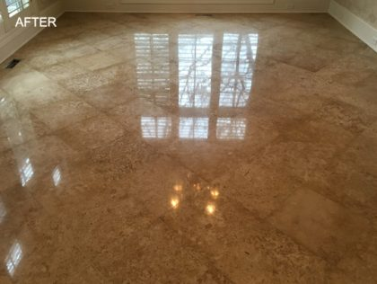 Beautiful Travertine Floors Are Just A Phone Call Away In SW Florida