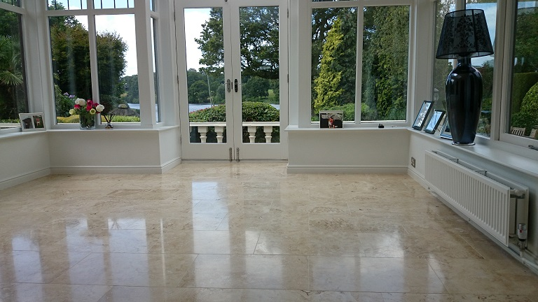 Travertine Cleaning and Polishing Experts Throughout SW Florida