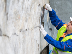 Graffiti Removal On Stone Surfaces