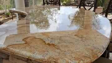 Granite Countertop Cleaning, Polishing and Sealing