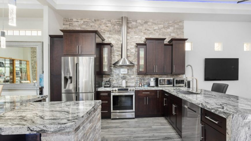 Granite Countertop Cleaning, Polishing and Sealing in SW Florida