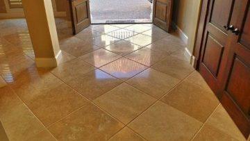 Travertine Cleaning, Polishing, Repair and Sealing SW Florida